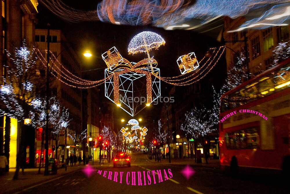 Christmas in Oxford Street  by Neophytos