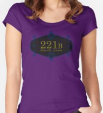 221B Baker St Women's Fitted Scoop T-Shirt