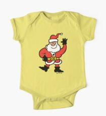 Santa Claus Greetings One Piece - Short Sleeve