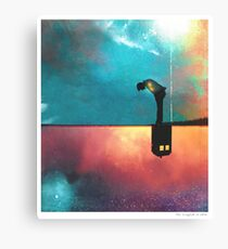 Peace for Lonely Monsters Canvas Print