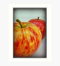 Fresh Apples Art Print