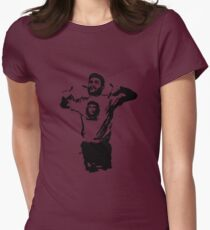 Che wearing Che Womens Fitted T-Shirt
