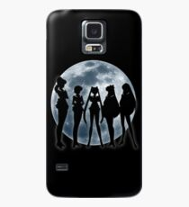 Sailor Moon Silhouettes v.2 Case/Skin for Samsung Galaxy