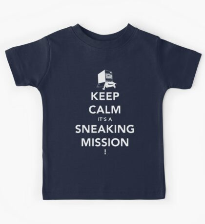 Keep calm Snake! Kids Clothes