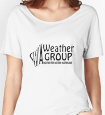 WA Weather Group T-Shirt  Women's Relaxed Fit T-Shirt