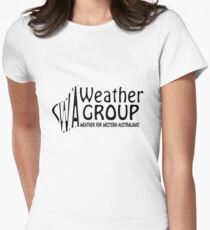 WA Weather Group T-Shirt  Womens Fitted T-Shirt