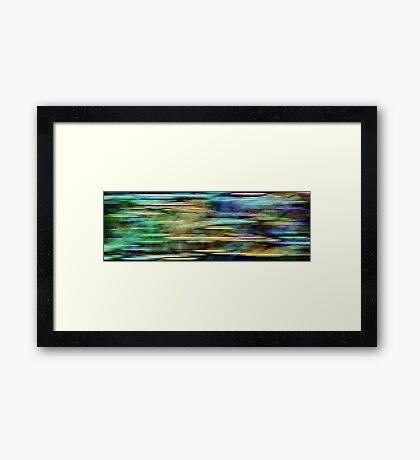 Fragments #1 Framed Print