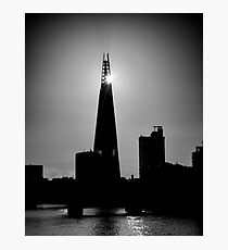 The Shard With The Morning Sun Photographic Print