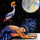 Lunar Gaze by Rachelle Dyer