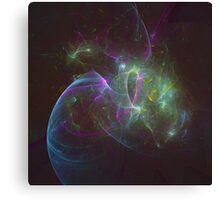 The Amount of Fruity Loops Consumed in a Lifetime as Meteors | Fractal Starscape Canvas Print