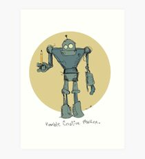 Humble Creative Machine Art Print