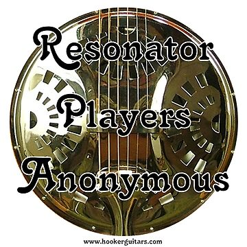 Resonator Guitar Players Anonymous by neonblade