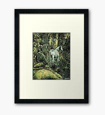 Unicorn & Pixies Framed Print