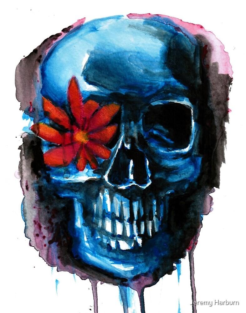 flower skull by Jeremy Harburn