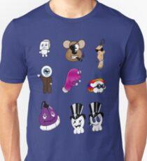 Mini Character Stickers T-Shirt