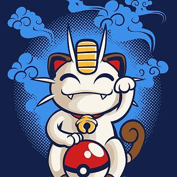 Lucky Meowth de rakimartinez