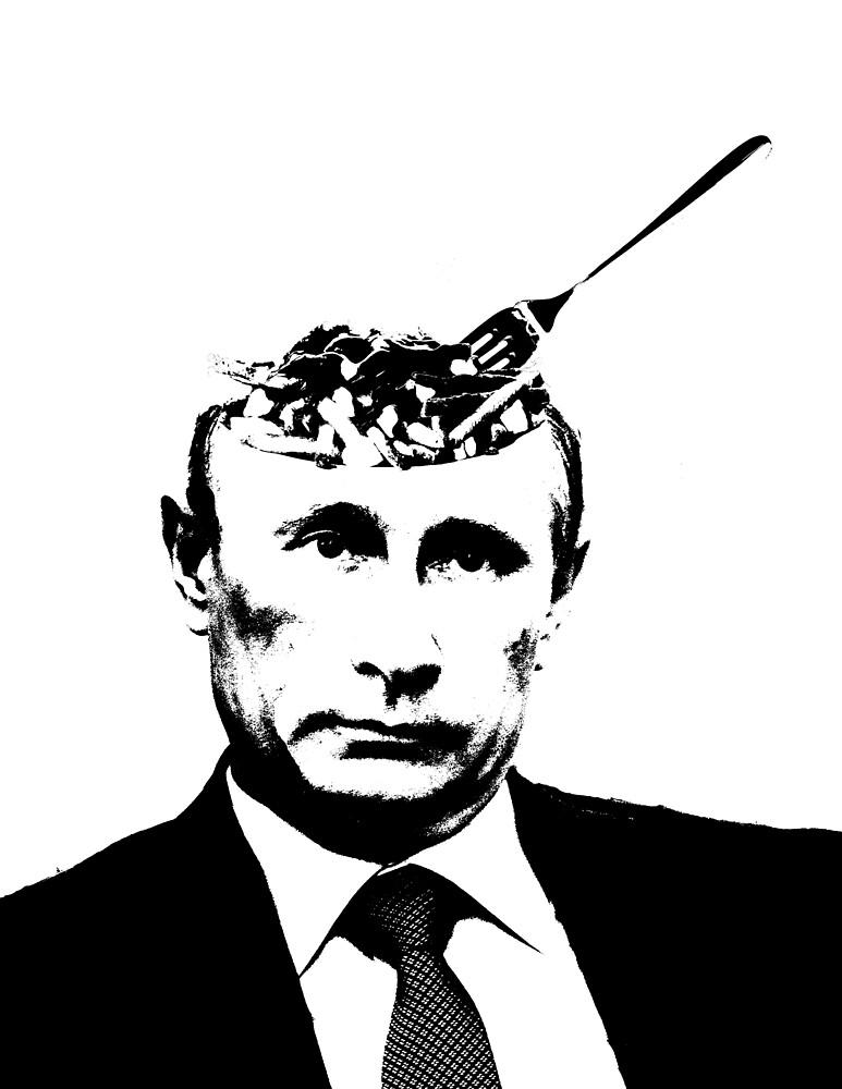 Vladimir Poutine - Vladimir Putin Pun by Matt Skinner