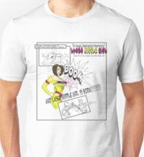 Laser Nipple Girl (storyboard) T-Shirt