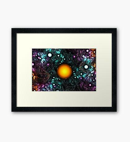 Central Star Framed Print