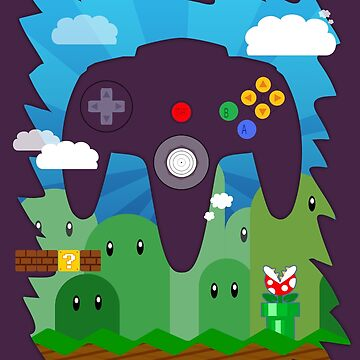 N64 LAND - CONTROLLER by briteddy
