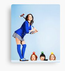 Heathers the Musical Cover Canvas Print