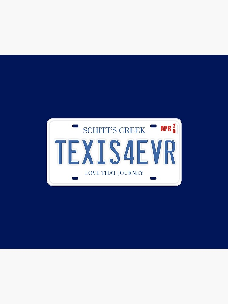 Ted and Alexis License Plate by MovieVigilante