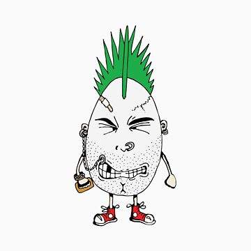 Rotten Egg #4: Mr. Sunny-side Down by oddfruit