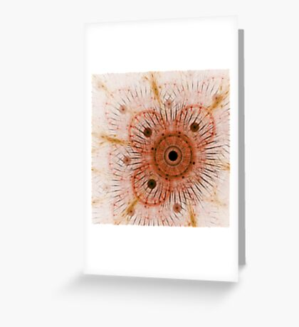 Outlines Greeting Card