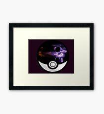 The World In A Pokeball Framed Print