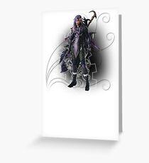 Final Fantasy XIII-2 - Caius Ballad Greeting Card