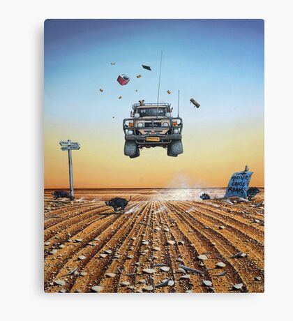 Are We There Yet?! Moonie. Canvas Print