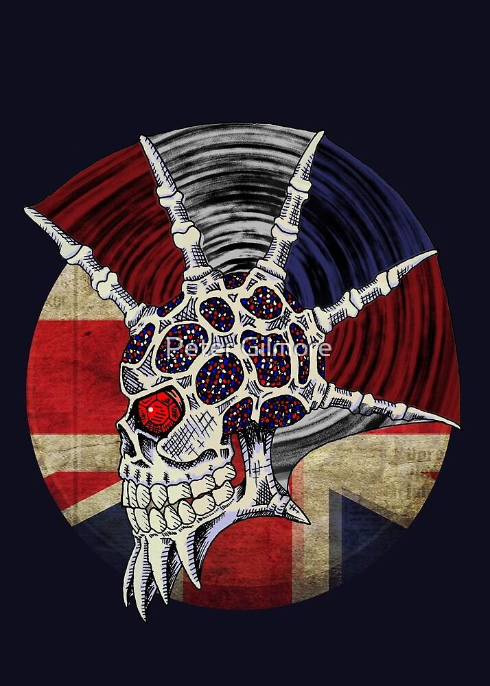 Punk Skull - Union Jack BG by SquareDog
