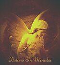 Believe In Miracles Vintage Angel by Marie Sharp