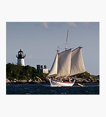 Pinky Ardelle Rounds Ten Pound Island Photographic Print