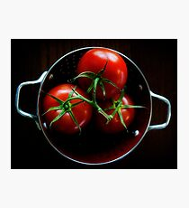 Homegrown Tomatoes  Photographic Print