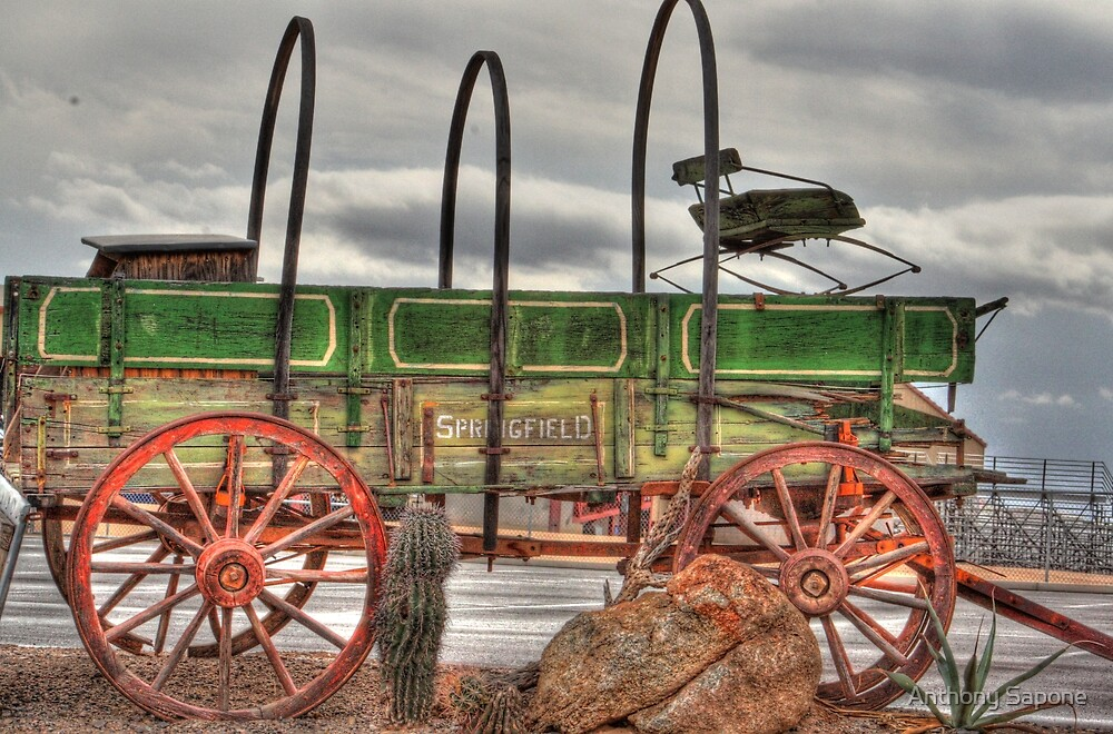 Old Time Wagon by Anthony Sapone