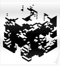 Isometric Decay Poster