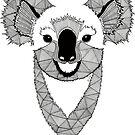 «Koala en blanco y negro» de artetbe