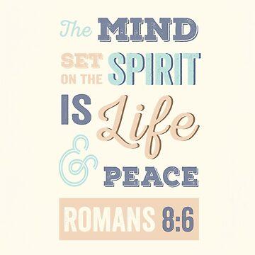 Glücklich, hell, bunt, moderne typografische Bibel Vers. von TheFinerThemes