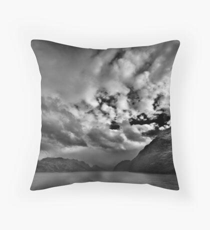 Chilean Fiords 2 Throw Pillow