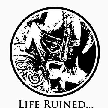 Skyrim Ruined My Life Shirt by acdramon