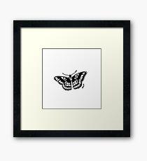 Butterfly Tattoo Framed Print