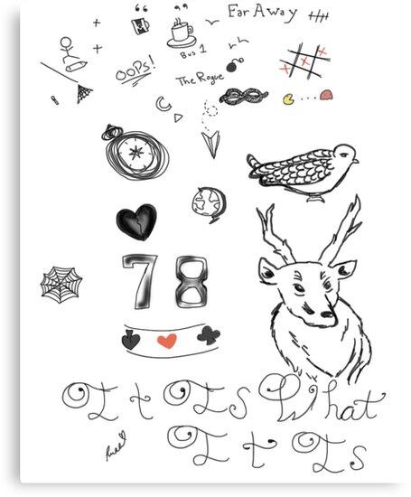 Louis Tattoos by PurpleGlitterXx