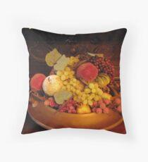 Fruits & Fruits Throw Pillow