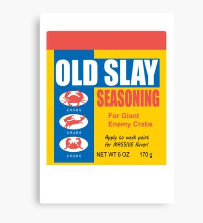 Old Slay Canvas Print