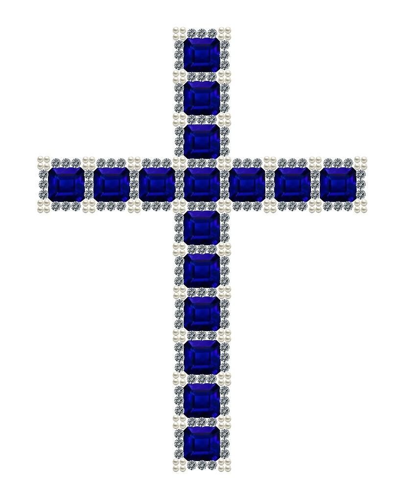 Blue Cross by eldonshorey