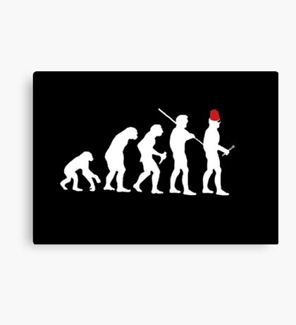 Evolution of the Time Lord Canvas Print