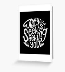 Find It in The Mountains Greeting Card