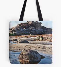 Big Rock, Little Rock  Tote Bag