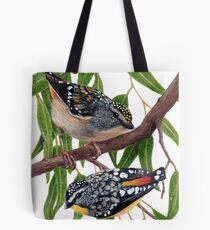 Spotted pardalotes Tote Bag